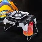Outdoor Portable Alpine Stove Cassette Gas Stove Camping Windproof Cassette Gas Stove Camping Hiking Travel Cooker