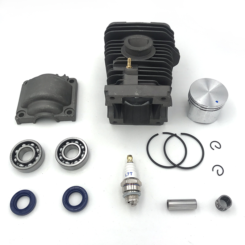 40mm Cylinder Engine Pan Piston Assy Base Ball Bearing Spark Plug Kit For STIHL MS230 210 023 Chainsaw Spare Parts