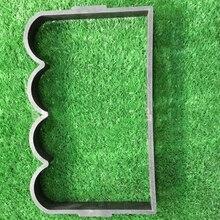1 шт. форма плацдарма Бетон цемент прессформы ABS волны формы сада, декоративные камни формы, волны формы d
