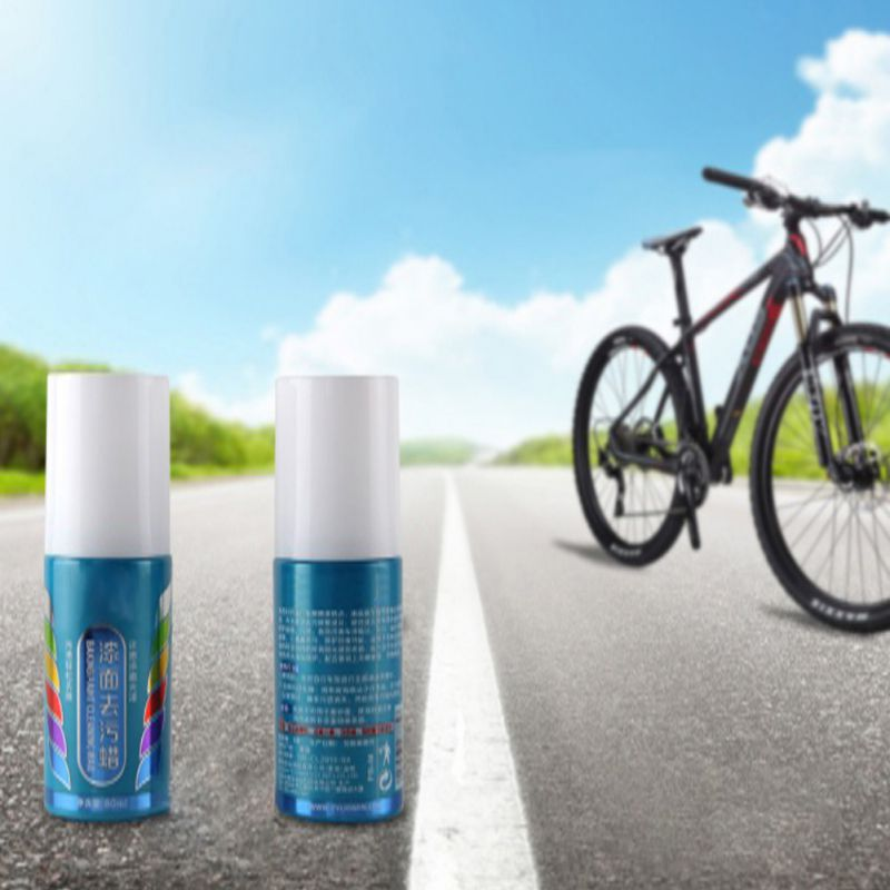 80ML Mountain Bike Paint Quick-Acting Glazing  Wax Bicycle Scratching Paint Repair Tool Cycling Cleaning Wax Road Bike  Cleaner