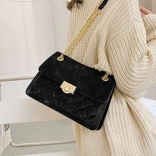 Женская сумка на цепочке lingge новинка осень зима 2020 модная