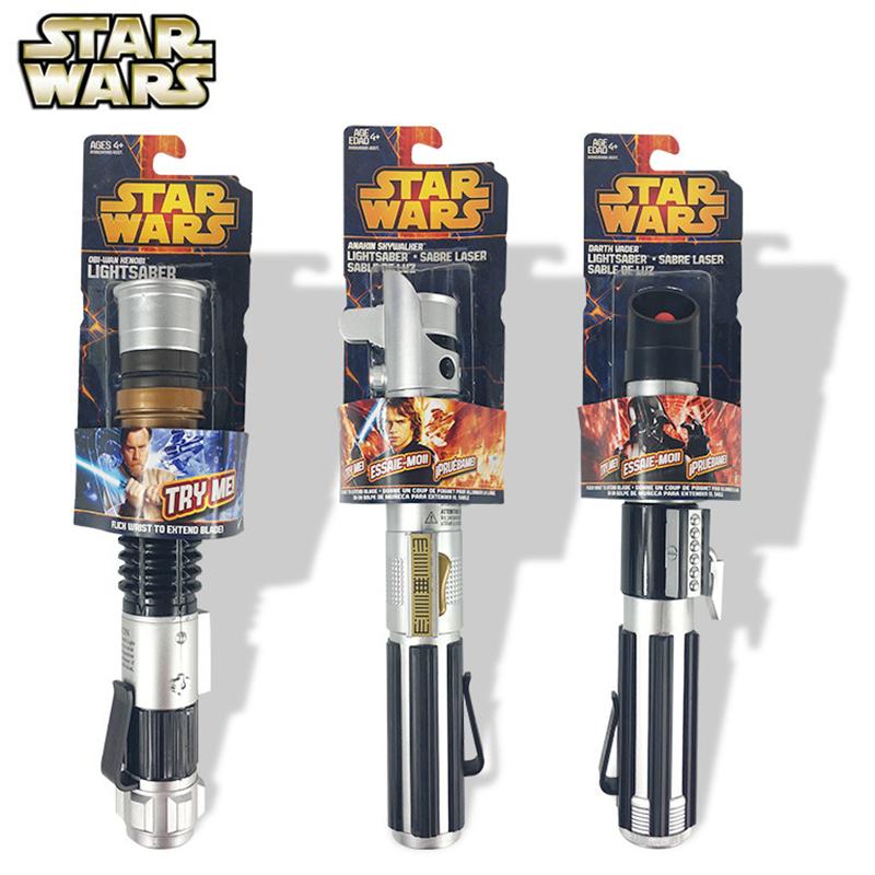 Cosplay Star Wars Force Awakening Master Yoda Laser Sword Telescopic Lightsaber Toy  Throwing and Throwing Type Luminous Toys