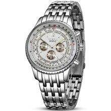 New Men Watches Stainless Steel Mens Watch Luxury Quartz Business Cheap relogio masculino esportivo reloj