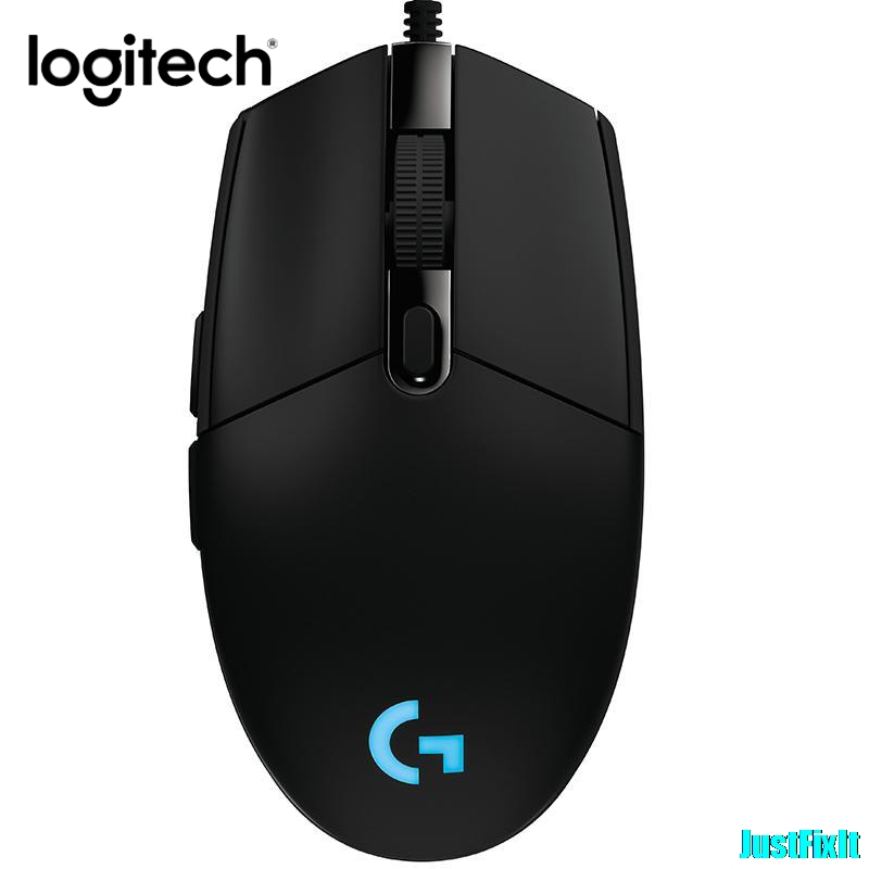 Original Logitech G102 Wired Mouse With Box Gaming Souris 200-8000 DPI Gamer Mice Computer Mouse RGB Rechargeable Mause