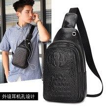 Creativo nuovo sacchetto Dellunità di elaborazione del seno, cintura, gli uominis inclinazione straddle borsa, borse per il tempo libero, versione coreana della tendenza di moda, di un sacchetto di spalla
