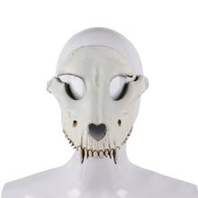 Карнавальная маска с костью Овцы на Хэллоуин, вечерние костюмы из пенополиуретана для костюмированной вечеринки, карнавальные костюмы на половину лица, ужасные цвета
