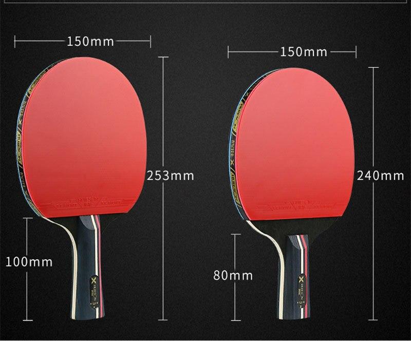 Huieson 3 estrela raquetes de tênis de