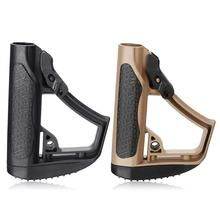TOtrait Tactical Nylon Dd Buttstock For Gen9 M4a1 J9 Gel Ball for Blaster Toy Outdoor Game Equipment Water Bullet