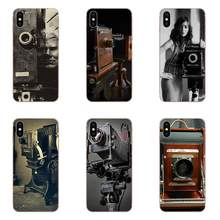 Soft Case Covers Vintage Large Lens Camera For Huawei P7 P8 P9 P10 P20 P30 Lite Mini Plus Pro Y9 Prime P Smart Z 2018 2019(China)