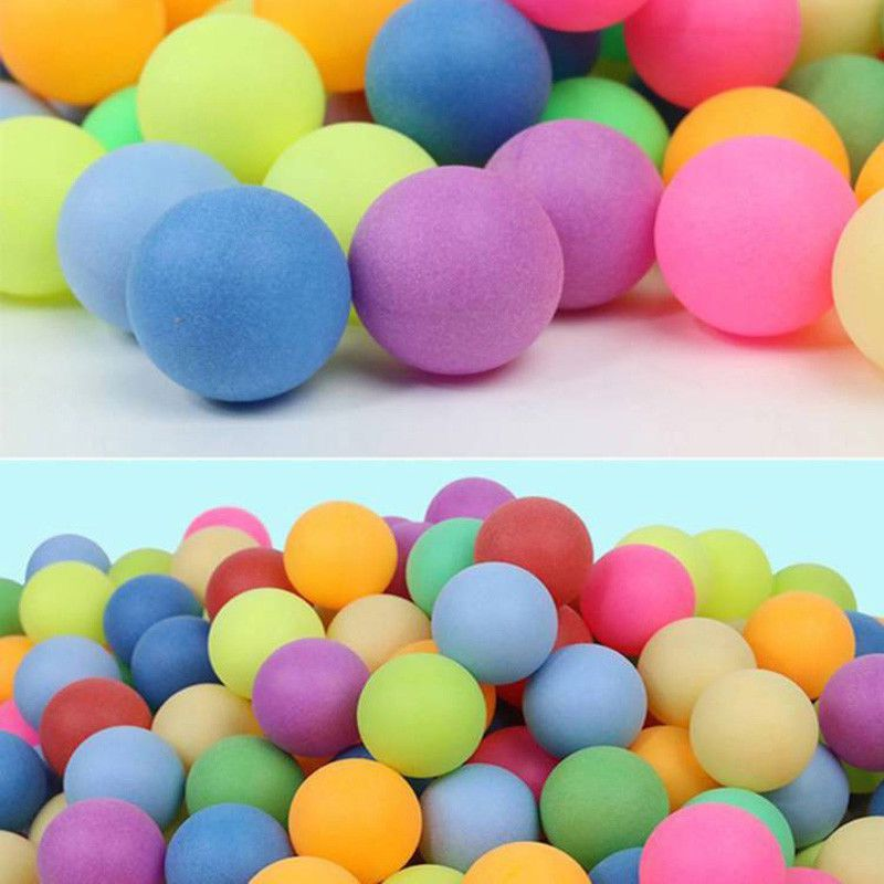 100pcs/Pack High-quality Professional Colorful Ping Pong Balls Table Tennis Balls