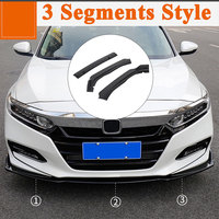ABS Trim Front Bumper Lip Trim Accessories Anti Collision Mouldings for Vehicle for Honda