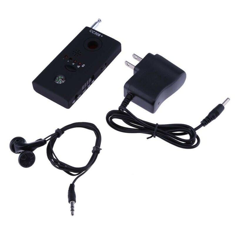 Полный диапазон сканирования Беспроводная шпионская камера GPS RF детектор сигналов ошибки Беспроводная шпионская камера GSM устройство отсл...