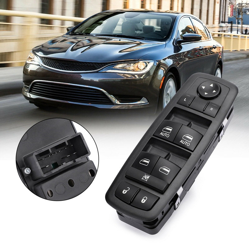 New Front Left Master Window Switch For Chrysler 200 300 68139805AB 68139805AA