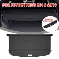 Audew For Toyota Prius 2016 2019 Car Trunk Shade Rear Security Cargo Cover Aluminum Auto Rear Cargo Screen Security Shield Shade
