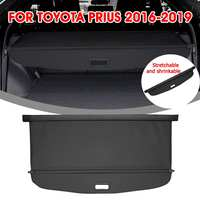 Audew For Toyota Prius 2016 2019 Car Trunk Shade Rear Security Cargo Cover Aluminum Auto Rear Cargo Screen Security Shield Shade