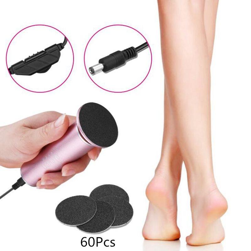Aluminum Alloy Electric Callus Peel Remover Foot File Hard Dead Skin Polisher Exfoliating Grinding Pedicure Feet Care Tools