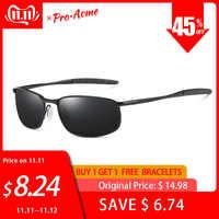Gafas de sol de marca Pro Acme gafas de sol de hombre polarizadas con revestimiento rectangular gafas de conducir de espejo gafas de sol deportivas gafas de sol hombre PA0926