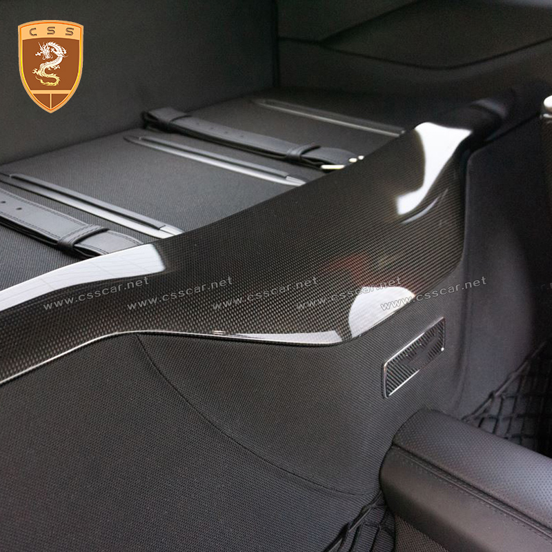 Real Carbon Fiber Auto Car Trunk Protection Board For Ferrari 812 High Quality Luggage Guard Cover Decoration