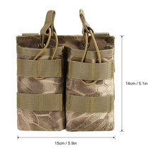 Access Tactical Magazine Pouch Molle Pistol Mag Military Soft Shell Mag Pouch with Belt Clip Magazine Holster Fastmag molle pouch compare