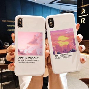 Harry Styles Love On Tour 2020 Candy Color TPU Case phone For iphone X 7 XS XR 11 11Pro 11ProMax ADORE YOU case Cover(China)