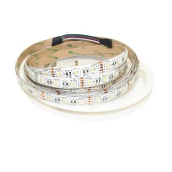 DC12V 5M RGBW /RGBWW 4 color in 1 led chip LED Strip SMD 5050 flexible light RGB+White/warm white 60Leds/m IP30/65 Waterproof 5m lot 5 color in 1 led chip rgbww led strip smd 5050 flexible light rgb cool white