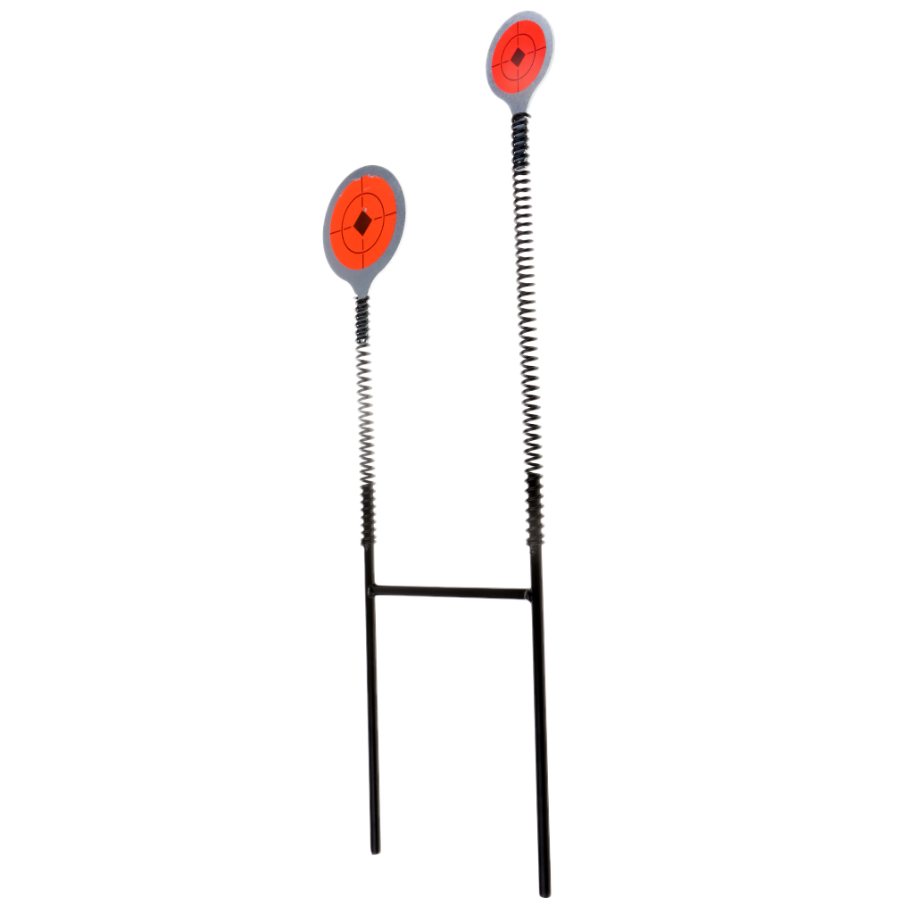 Spring Steel Spinning Shooting Targets Self Rotary Resetting Practice Target Ground-Inserted Aim Tool
