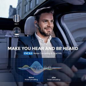 Image 3 - Mpow EM17 Drahtlose Kopfhörer Kristall Klar Aufruf Ohrhörer Bluetooth Kopfhörer Mit Dual Mic Cancelling Noise Mit Business Design