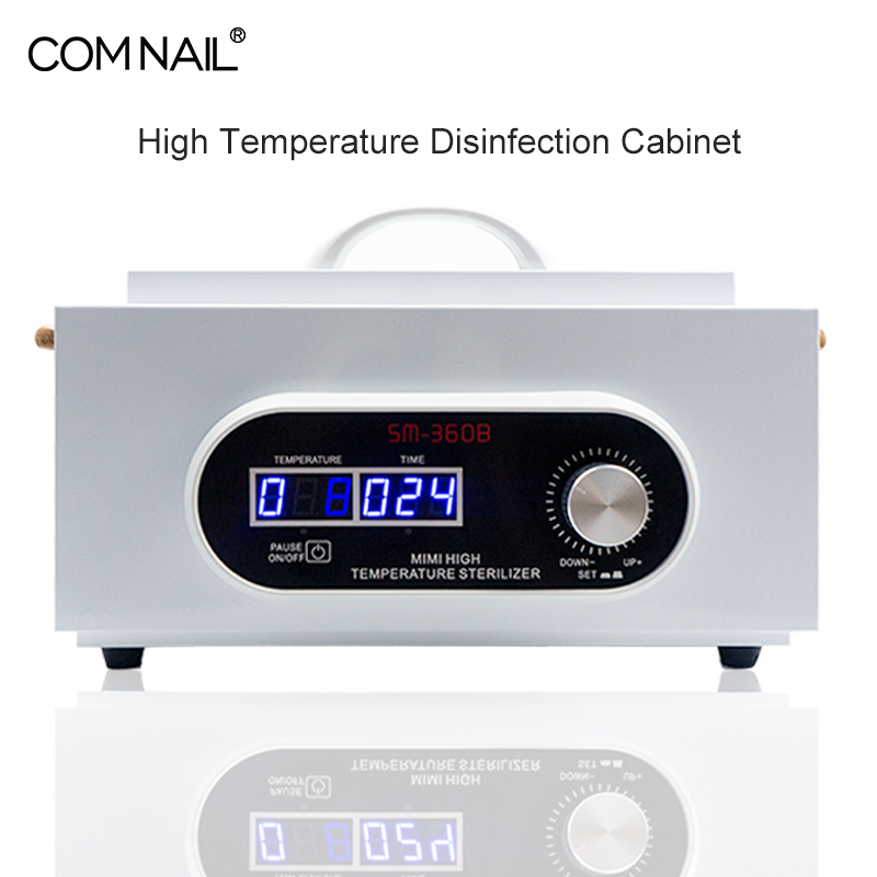 Manicure Sterilizer Instrument Autoclave Disinfector Box LCD Display High Temperature Dry Heat Sterilizer For Manicure Tools