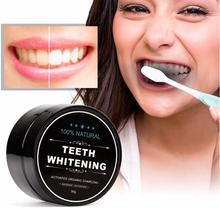 купить 1 PCS 30g Teeth Whitening Oral Care Charcoal Powder Natural Activated Charcoal Teeth Whitener Powder Oral Hygiene дешево
