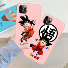 Leuke Dragon Ball Z Super Zoon Goku DBZ Case Voor iPhone 11 11pro 7 8 Plus X XS Max XR 5S SE Soft Silicone Cover Coque Fundas(China)
