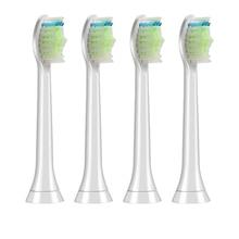 4 шт., набор зубных щеток, электрические сменные насадки для щёток, подходит для Proresults Sonicare Diamond Clean HX6064