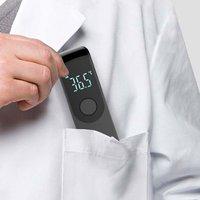 Termómetro Digital sin contacto para bebés, medidor de temperatura infrarrojo con pantalla LCD