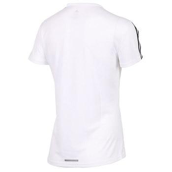 Original New Arrival  Adidas RUN 3S TEE W Women's T-shirts short sleeve Sportswear 2