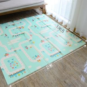 Image 5 - XPE Environmentally Friendly Thick Baby Crawling Play mat Folding Mat Carpet Play Mat For Childrens Mat Kid Rug Playmat