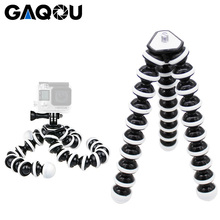 GAQOU Large Size Flexible Tripod Stand Mini Gorillapod Monopod Octopus Tripode for Gopro Digital Camera Canon Nikon Mobile Phone