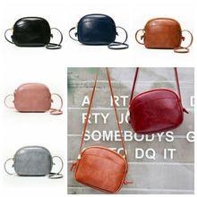 Woman Round Casual Shoulder Bag Female Adjustable Braided Tassel Small Round Bag Lady Versatile Funny Bag Bolsa Feminina 2019