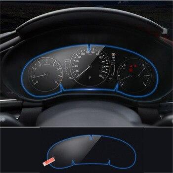 Instrumento do carro painel protetor para mazda 3 axela 2019 2020 painel de membrana filme painel do carro instrumento protetor tela|Molduras interiores|Automóveis e motos -