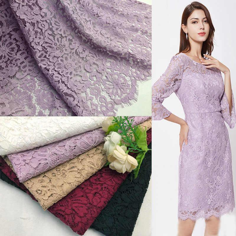 150cm * 150cm Pháp mi vải handmade DIY quần áo Đầm vải mới dây phối ren
