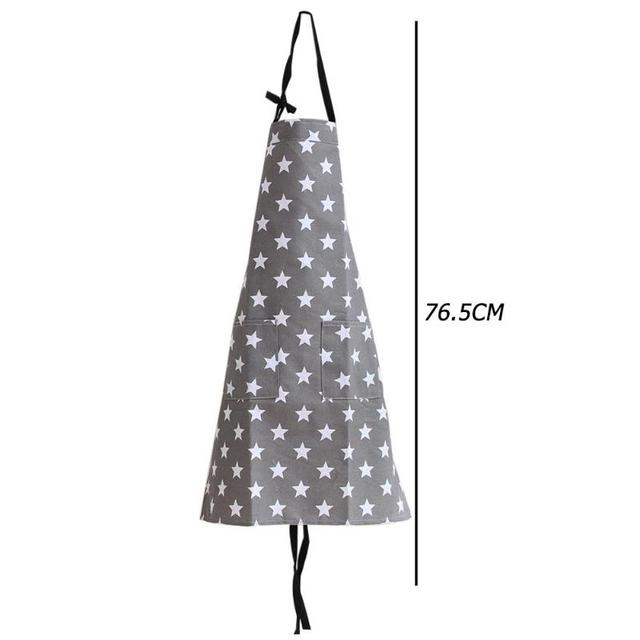Simple Unisex Apron Kitchen Sleeveless Apron Waterproof Cotton Star Painting Home Kitchen Accessories for Cooking Kitchen 2