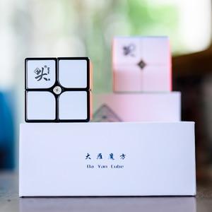 Image 4 - דיין 2x2x2 TengYun M מגנטי קסם קוביית 2x2 cubo magico חינוכיים צעצועי אלוף תחרות מקצועי קוביית צעצועים