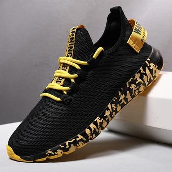 Men Vulcanize Shoes Sneakers Breathable Men Casual Shoes No-slip Male Lace Up Men Shoes Lightweight Tenis Masculino Wholesale 4