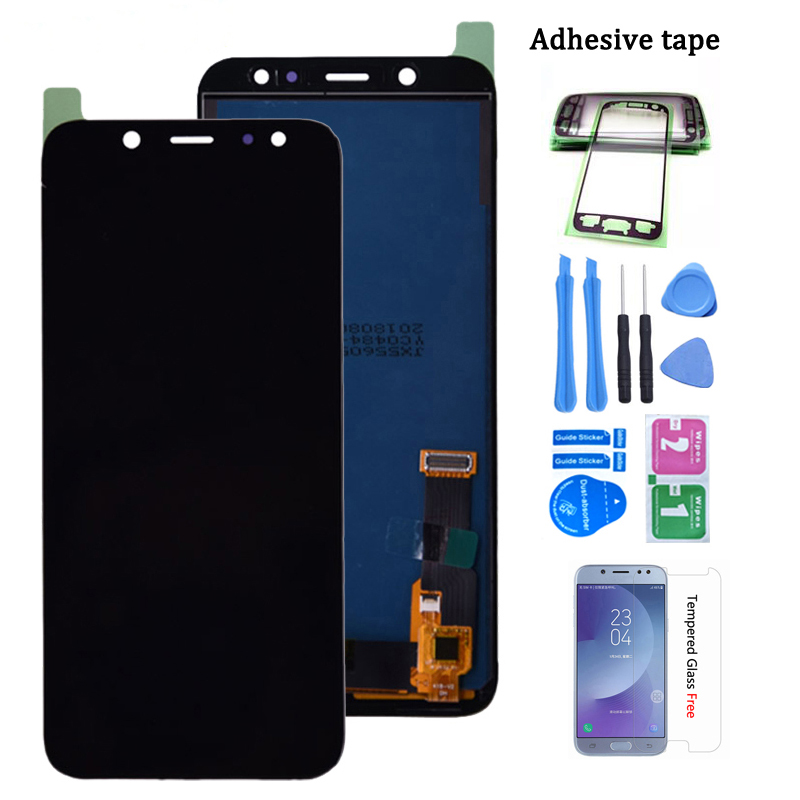 For Samsung Galaxy A6 A600 LCD Display With Touch Screen Digitizer Assembly For Samsung SM-A600F SM-A600FN Lcd