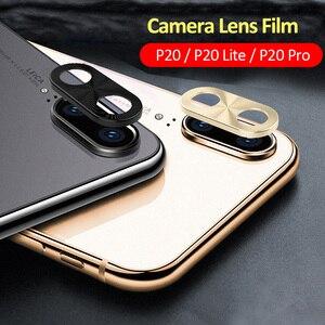 Image 1 - Per Huawei P20 Lite Obiettivo Della Fotocamera Anello di Protezione di Placcatura di Alluminio Per Huawei P20 P20 Pro Cassa Della Macchina Fotografica Anello di Copertura di Protezione