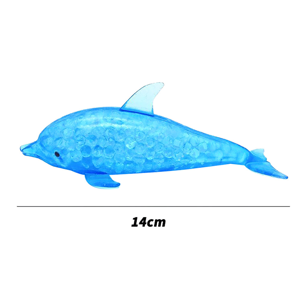 Toys For Adult Children Decompression Spongy Dolphin Bead Stress Ball Toy Squeezable Squishies Toy Stress Relief Toy Kids Toys img5