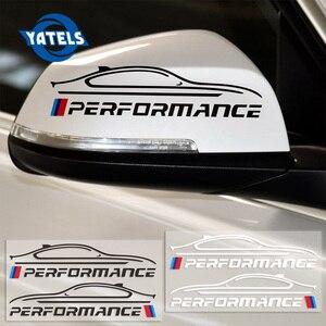 2 шт. новая производительность зеркало заднего вида Наклейка для BMW e46 e39 e36 e90 e60 f30 e30 e34 f10 внешние аксессуары для автомобиля-Стайлинг