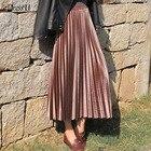 A-line Pleated Skirt...