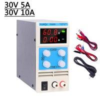 30V 5A 30V 10A 3/4 Digits DC Adjustable Power Supply Voltage Regulator Switching Laboratory Bench Power Source digital Display