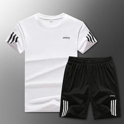 Losse Heren Sport Suits Quick Dry Running Sets Kleding Nieuwe Sport Joggers Training Gym Fitness Jogging Trainingspakken Grote Maat