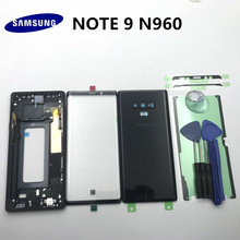 Original Full Housing Case Back Cover+Front Screen Glass Lens+Middle Frame For Samsung Galaxy NOTE 9 N960 N960F Replace all part