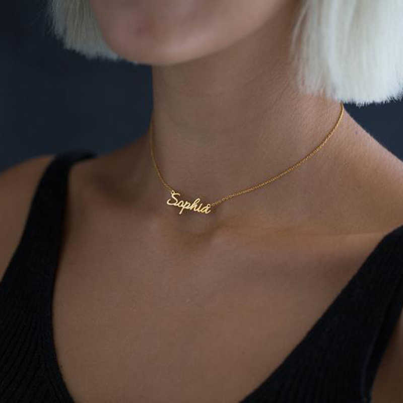 Any Personalized Name Necklace Stainless Steel Pendant Alison fascinating pendant custom name necklace Personalized necklace